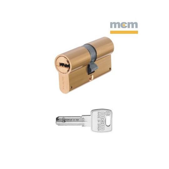 Wkładka MCM BS6 DUAL F dwustronna klasa 6.2.B z kluczem montażowym mosiądz