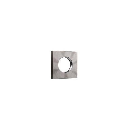 Uchwyt kwadratowy przelotowy do szkła 8 lub 10 mm