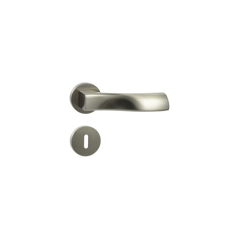 Klamka Cebi Liva-R M9 nikiel lakierowany