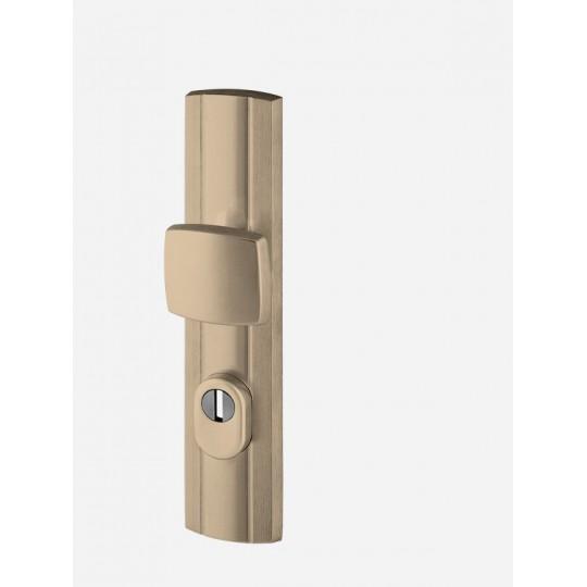Gałko-klamka AXA Prestige FLEX z zabezpieczeniem do drzwi zewnętrznych