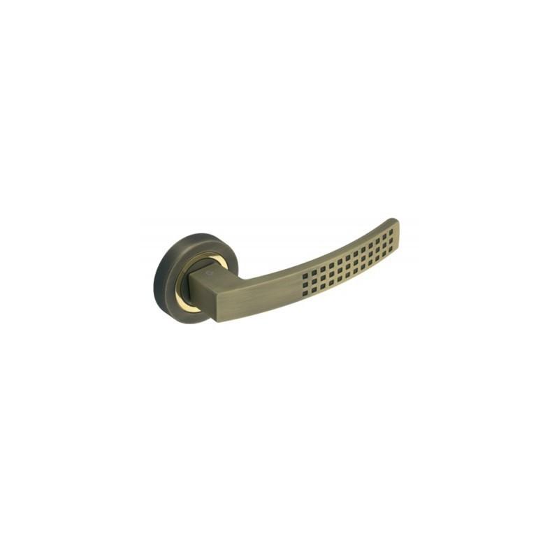 Klamka DH-15-22-02ME-03-02ME szyld okrągły