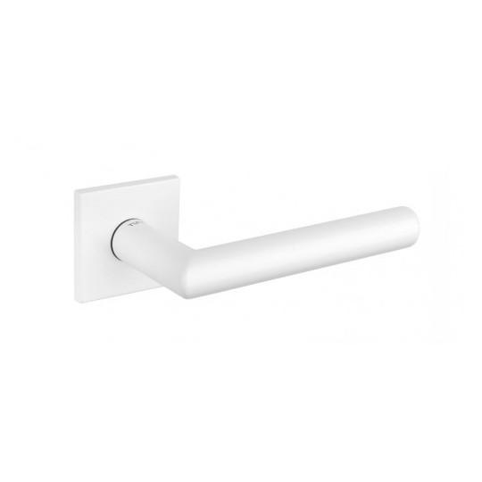 Klamka Tupai 4002Q 5S 152 szyld kwadratowy biały