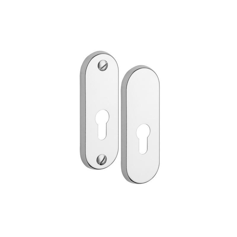 Rozeta R3/0 Exclusive do drzwi zewnętrznych Inox chrom