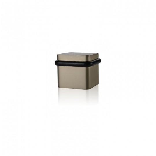 Odbój drzwiowy kwadratowy Minimal TiN-B tytan brąz mat