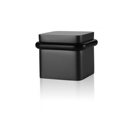 Odbój drzwiowy kwadratowy Minimal TiN-K tytan czarny mat