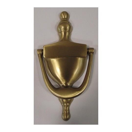 Kołatka drzwiowa Victorian 150mm złoty satyna