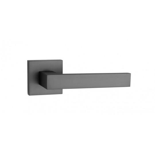 Klamka Tupai 2275Q 153 szyld kwadratowy czarny