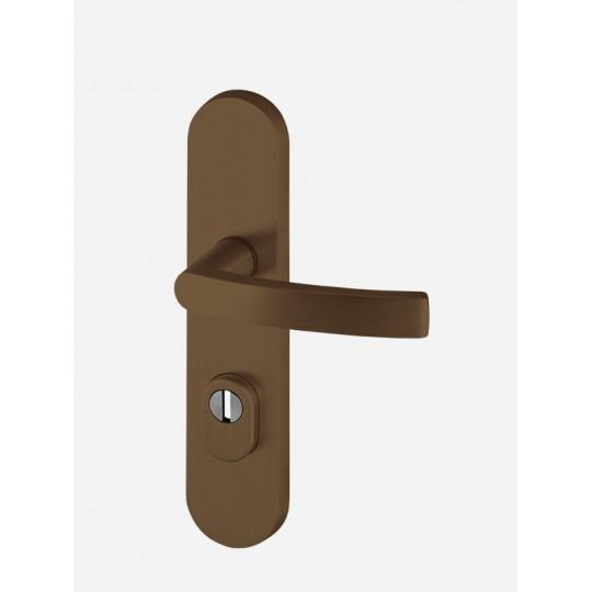 Klamka AXA Quebec FLEX z zabezpieczeniem do drzwi zewnętrznych