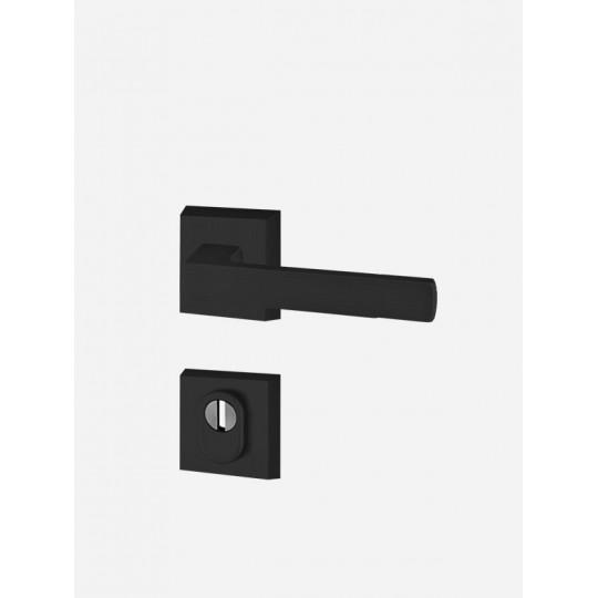 Klamka AXA Mars FLEX z zabezpieczeniem do drzwi zewnętrznych