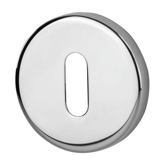 Rozeta okrągła R37V chrom klucz