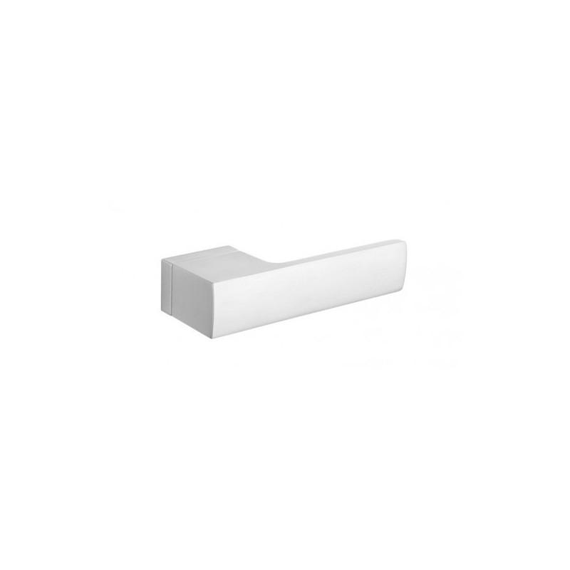 Klamka Tupai 4084 RT H 96 szyld prostokątny chrom szczotkowany