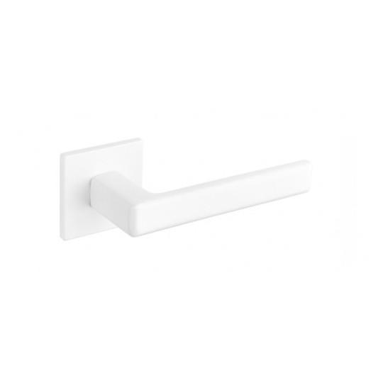 Klamka Tupai 3095Q 5S 152 szyld kwadratowy biały