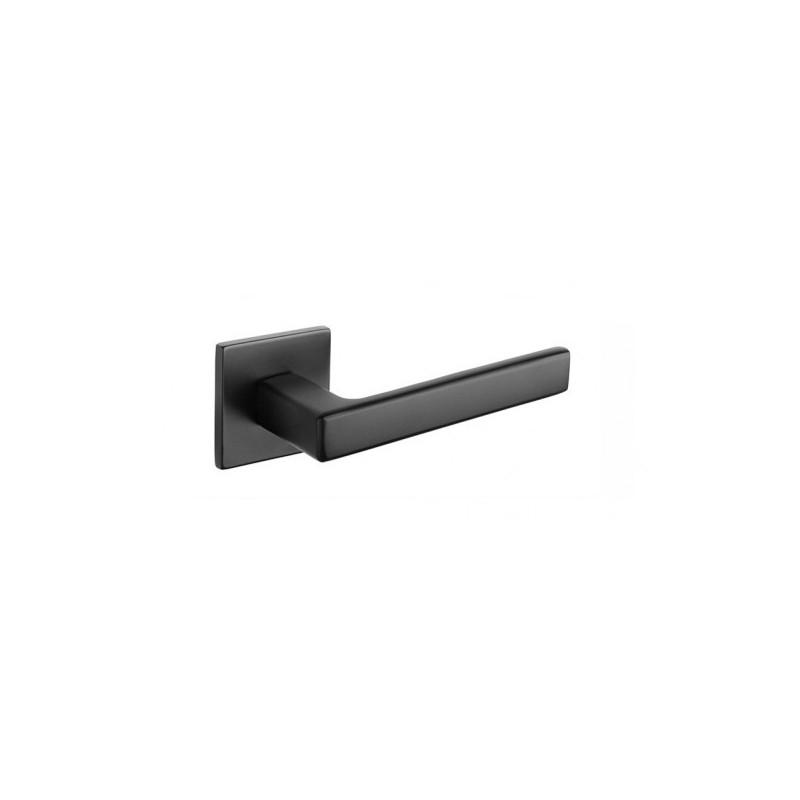 Klamka Tupai 3095Q 5S 153 szyld kwadratowy czarny