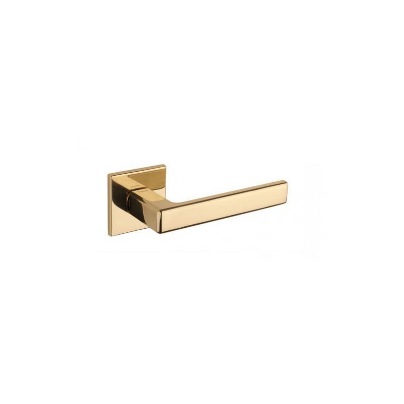 Klamka Tupai 3095Q 5S 01 szyld kwadratowy złoty