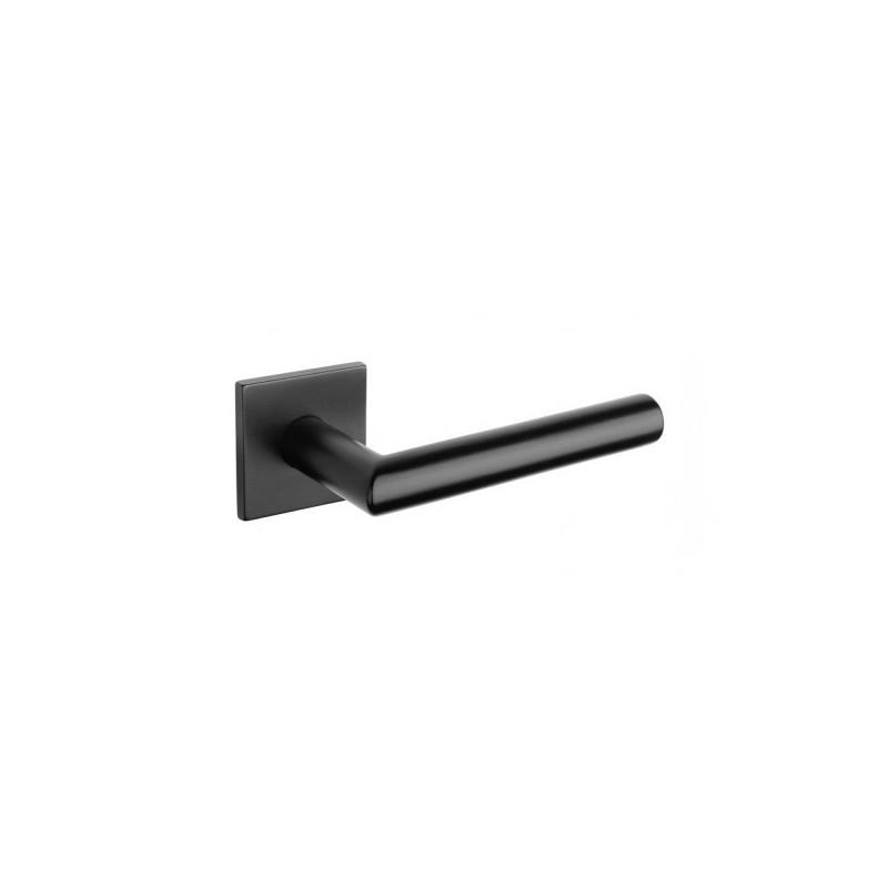 Klamka Tupai 4002Q 5S 153 szyld kwadratowy czarny