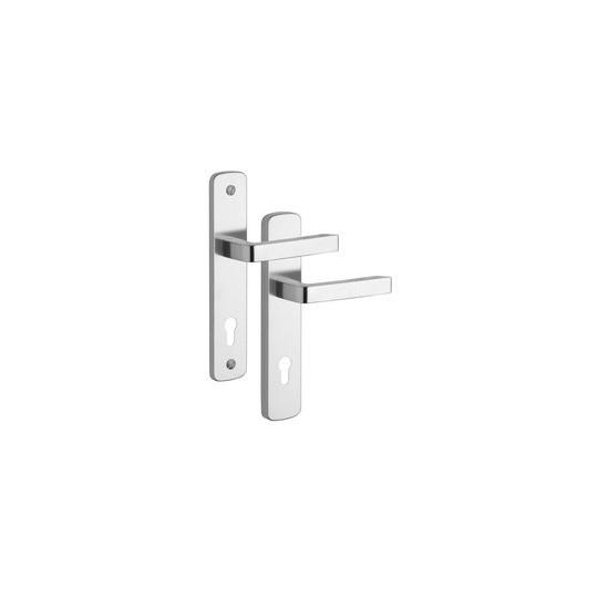 Klamka na wkładkę 807 Astra do drzwi zewnętrznych Inox mat