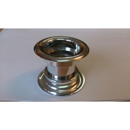 Tuleja wentylacyjna okrągła plastik metalizowany