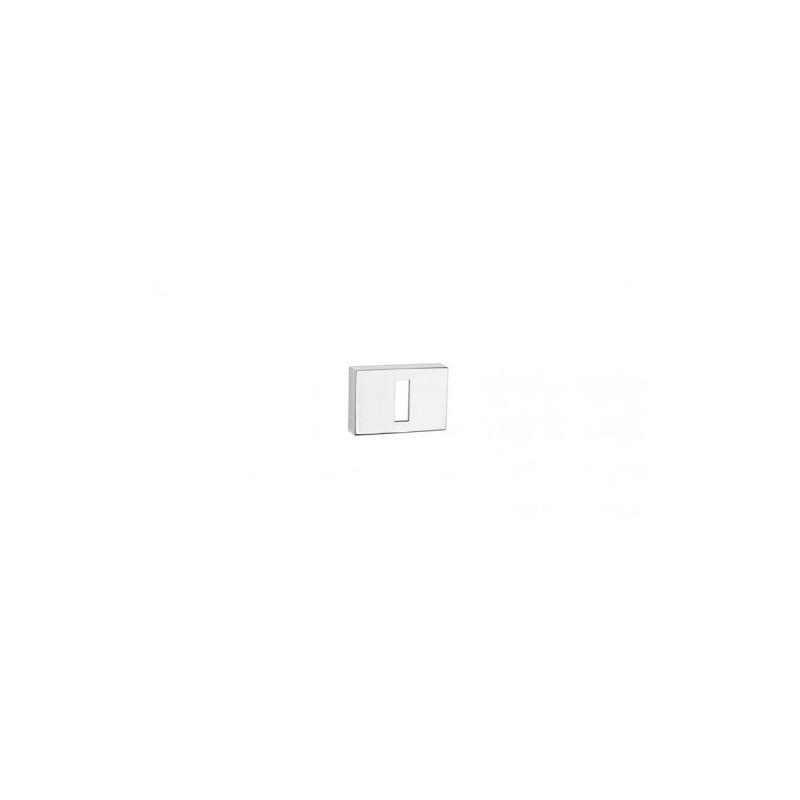 Rozeta na klucz 4065 RT Tupai szyld prostokątny chrom polerowany
