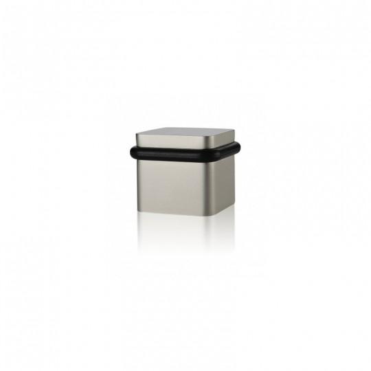Odbój drzwiowy kwadratowy Minimal SNi nikiel mat szlifowany