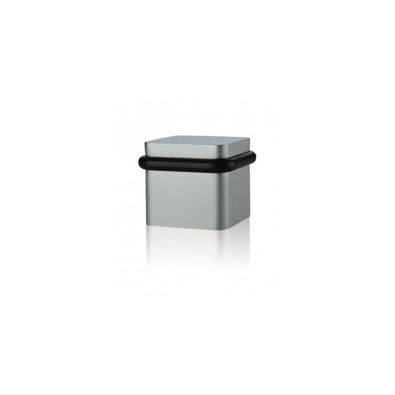 Odbój drzwiowy kwadratowy Minimal TiN-C tytan chrom mat