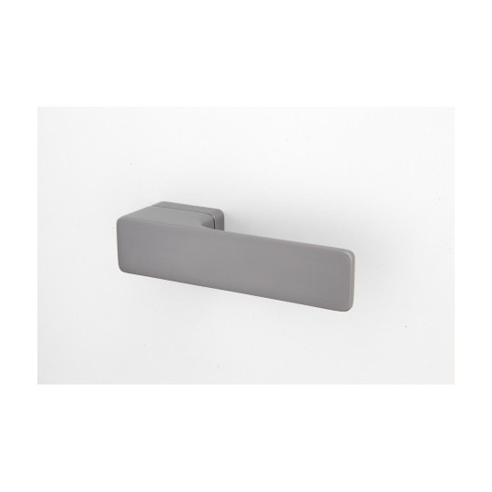 Klamka Minimal M&T szyld prostokątny TiN-C tytan chrom mat
