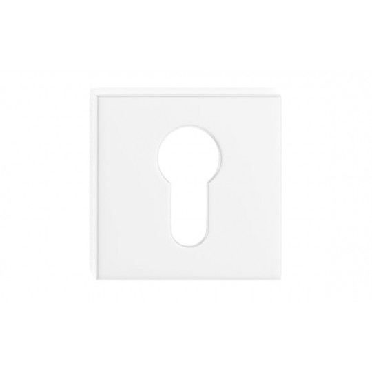 Szyld kwadratowy na wkładkę biały