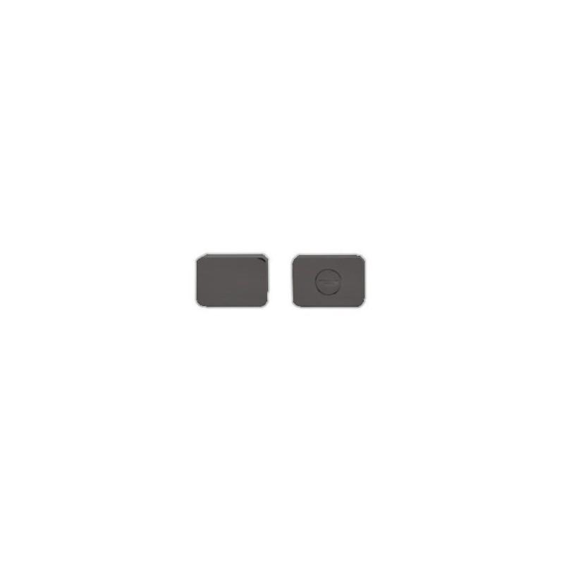 Rozeta WC Minimal/Maximal M&T TiN-K tytan czarny mat