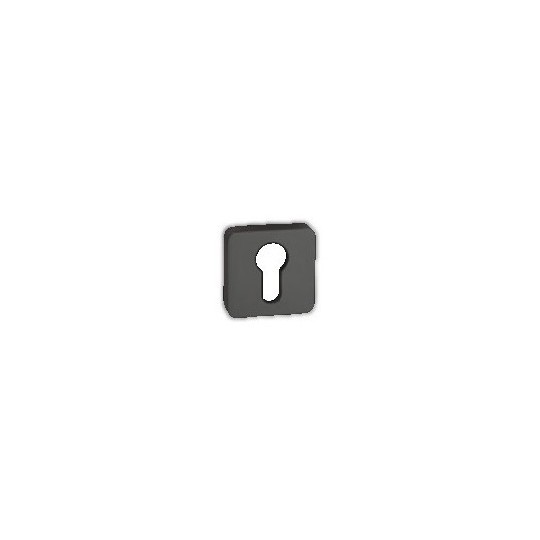 Rozeta na wkładkę patentową Minimal/Maximal M&T TiN-K tytan czarny mat