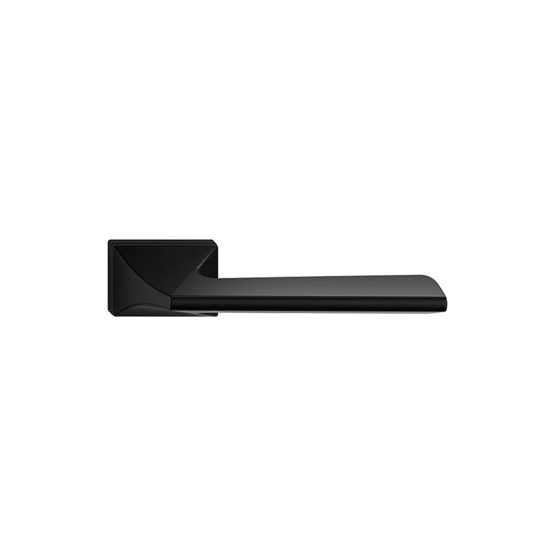 Klamka Impera z szyldem ukrytym, czarna
