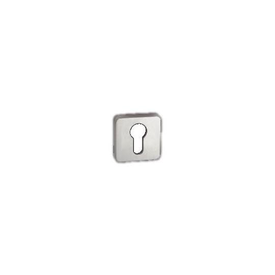 Rozeta na wkładkę patentową Minimal/Maximal M&T SNi nikiel mat