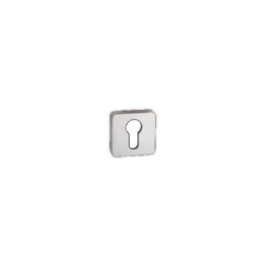 Rozeta na wkładkę patentową Minimal/Maximal M&T SNi-szlifowany  nikiel mat szlifowany