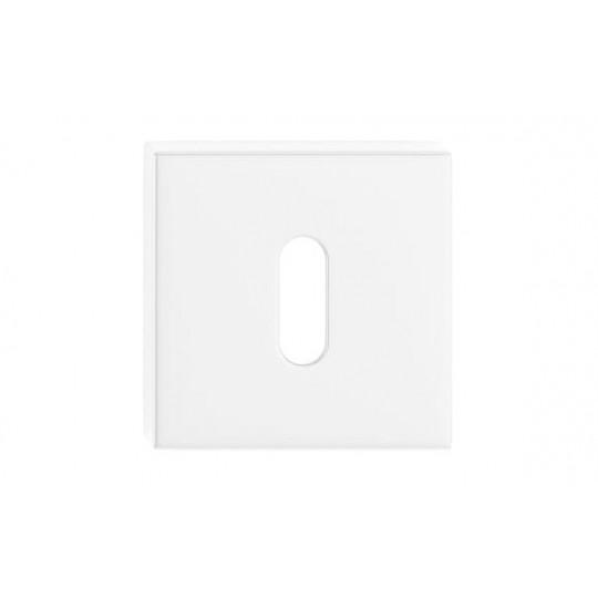 Szyld kwadratowy na klucz biały