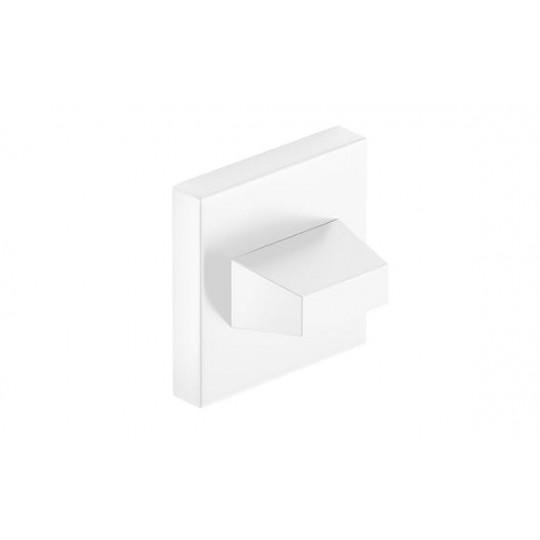 Rozeta WC biała do klamek kwadratowych