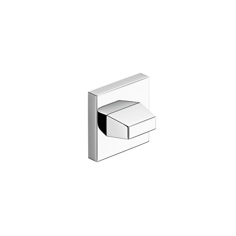 Rozeta WC chrom do klamek kwadratowych