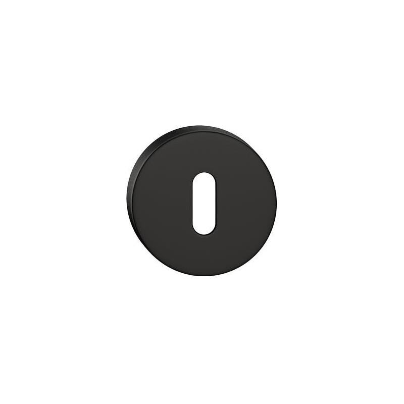 Szyld okrągły na klucz czarny