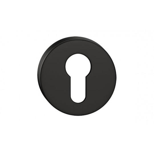 Szyld okrągły na wkładkę czarny