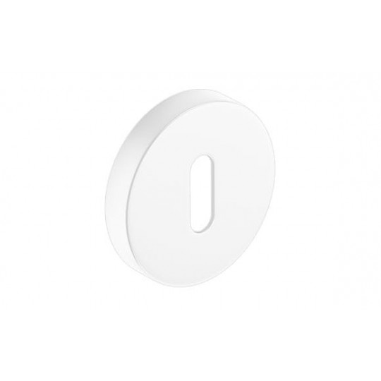 Szyld okrągły na klucz biała