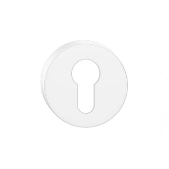 Szyld okrągły na wkładkę biały