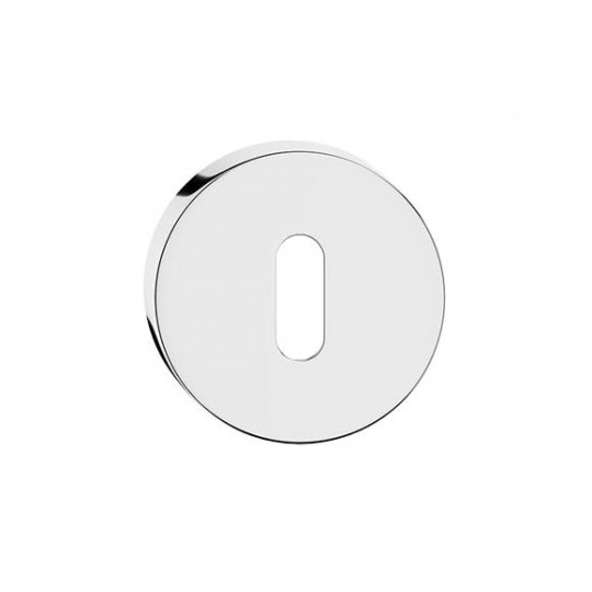 Szyld okrągły na klucz chrom