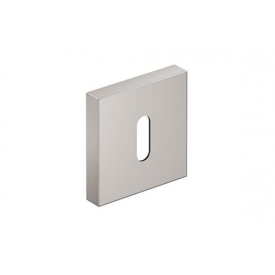 Szyld kwadratowy na klucz nikiel szczotkowany matt