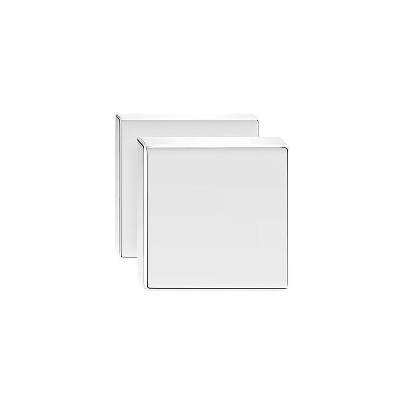 Gałka Aegis z kwadratowym szyldem chrom