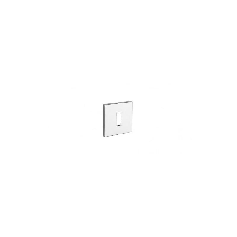 Rozeta na klucz Aprile Q 5S Tupai szyld kwadratowy 03 chrom polerowany