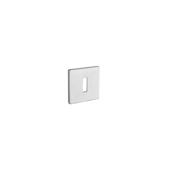 Rozeta na klucz Aprile Q 5S Tupai szyld kwadratowy 96 chrom szczotkowany