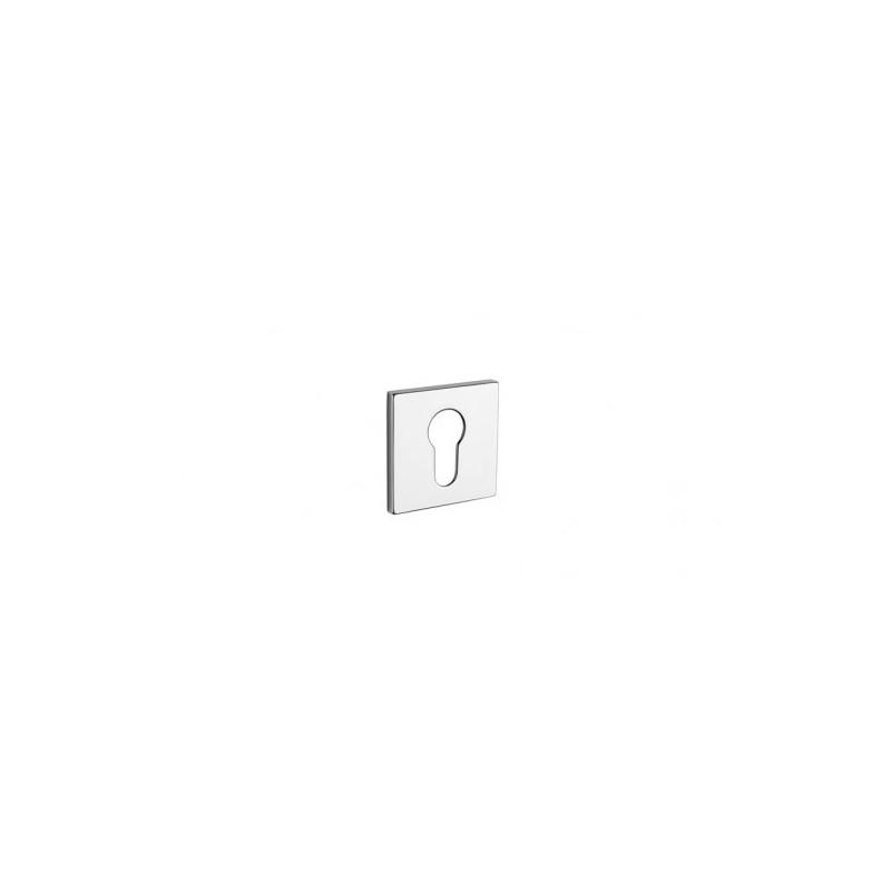 Rozeta na wkładkę Aprile Q 5S Tupai szyld kwadratowy 03 chrom polerowany