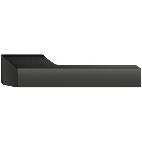 Klamka Maxima z szyldem ukrytym, czarna
