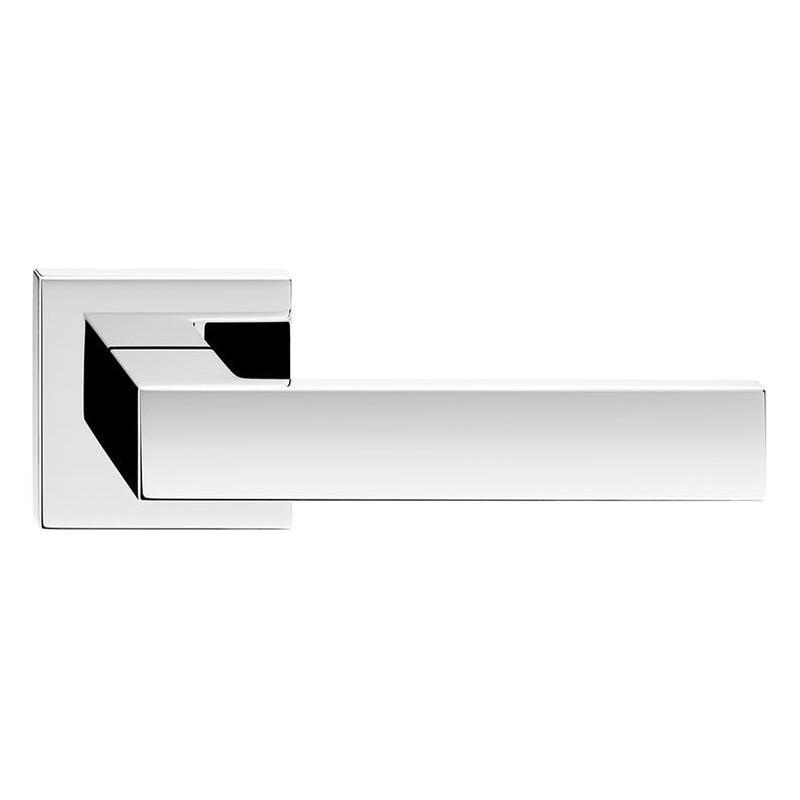Klamka Cube szyld kwadratowy, chrom