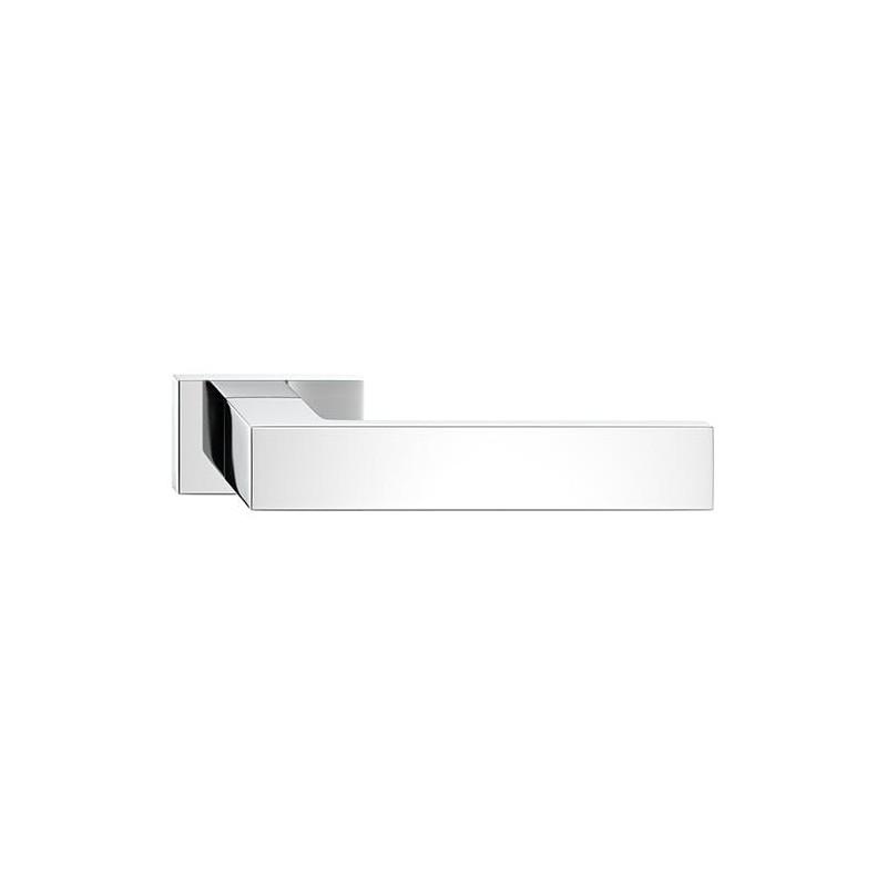 Klamka Focus z szyldem prostokątnym, chrom