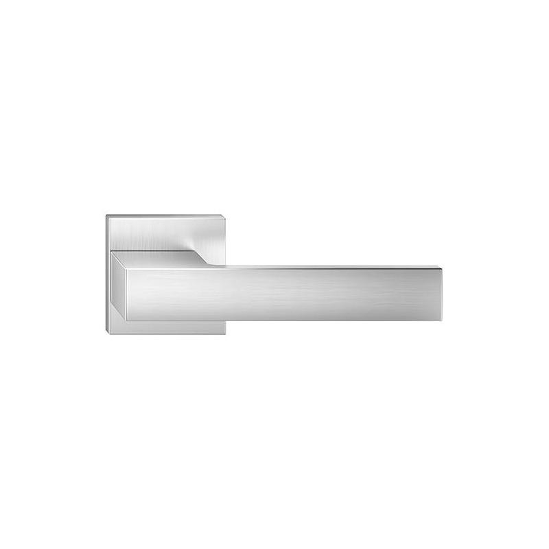 Klamka Total szyld kwadratowy, chrom szczotkowany matt