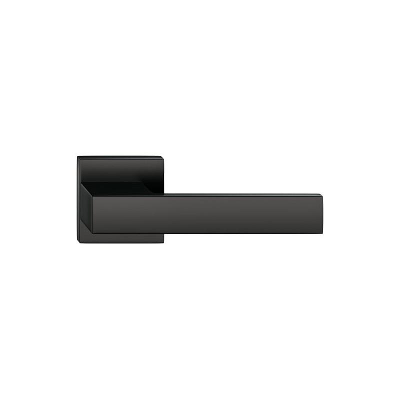 Klamka Grand szyld kwadratowy, czarna