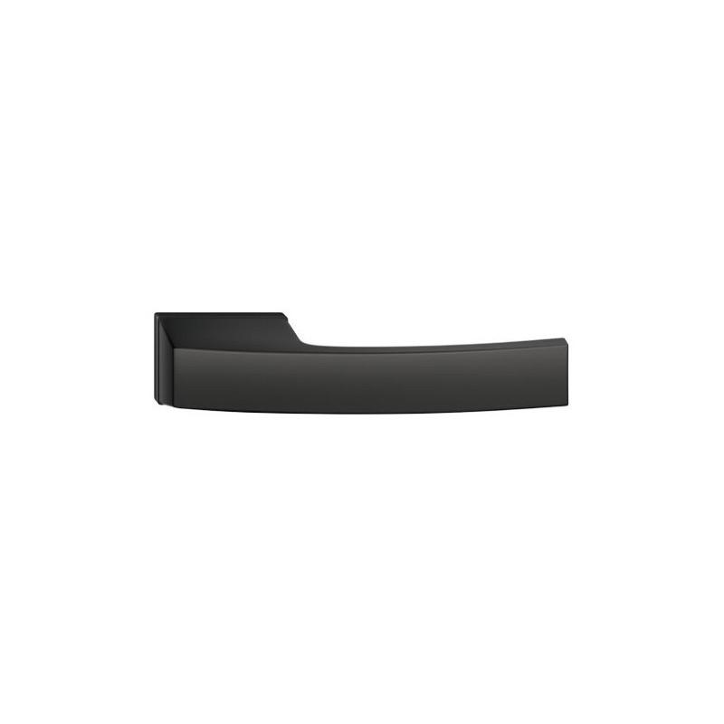 Klamka Arc z szyldem ukrytym, czarna